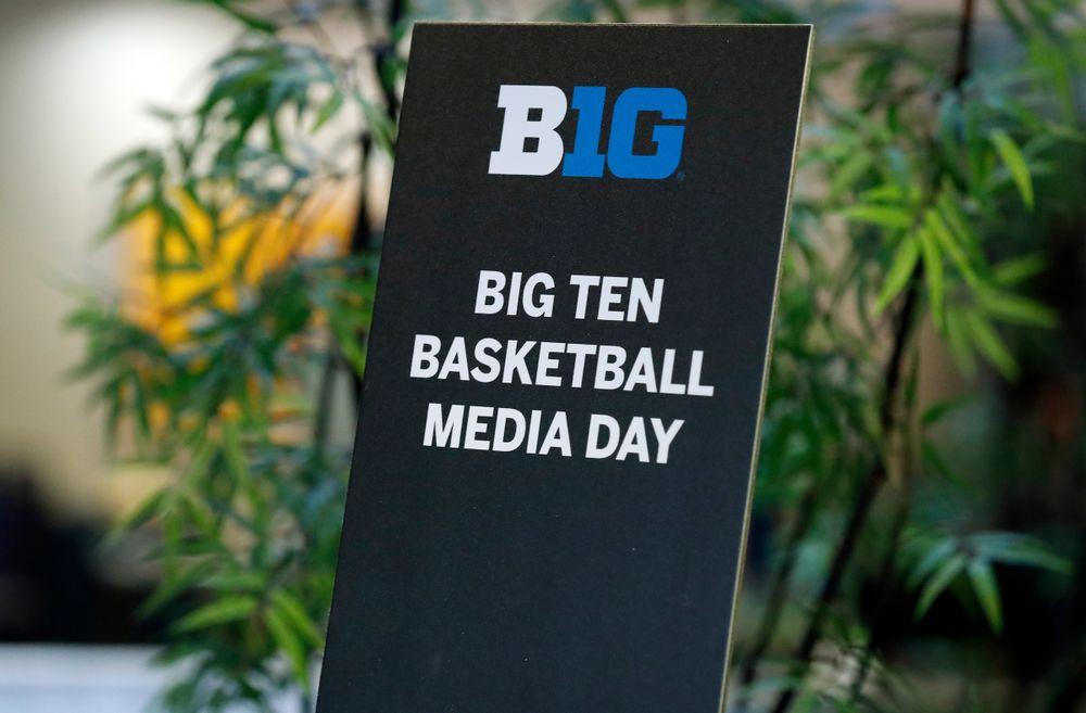 2018-19 Big Ten Men's Basketball Media Day Steve Woltmann/Big Ten Conference