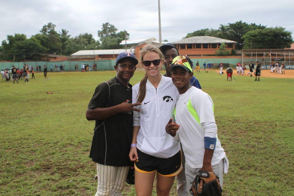 Erika Harrison Kid's Clinic Boca Chica, D.R. Photo: James Allan