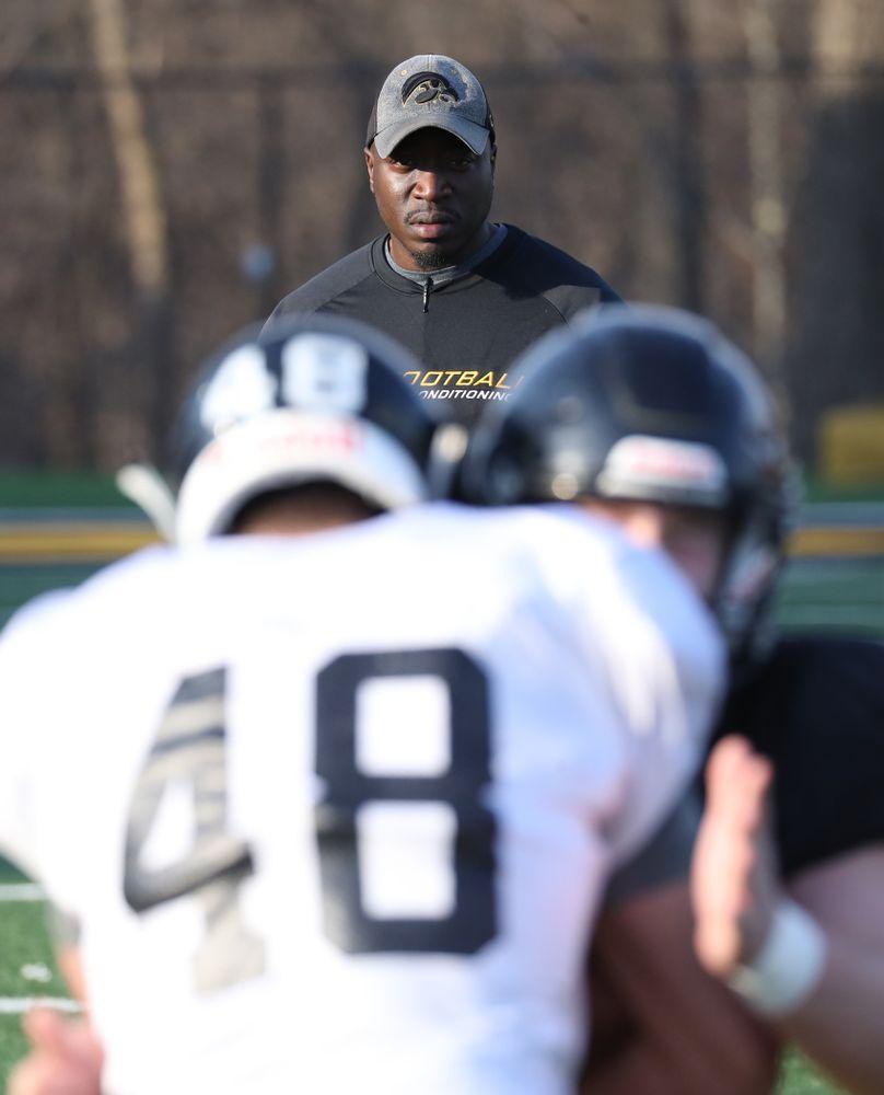 Former Iowa Linebacker, Abdul Hodge
