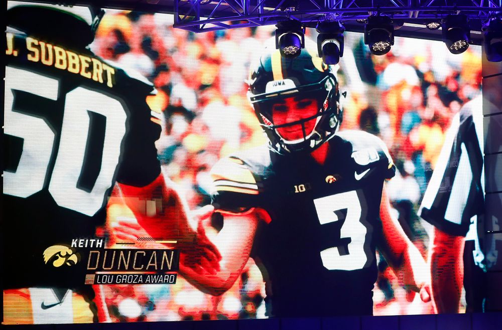 Video highlights of Keith Duncan