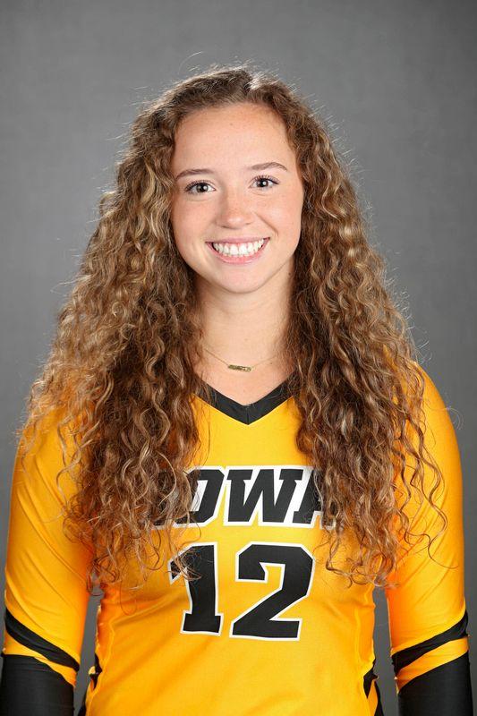 Bailey Ortega - Volleyball - University of Iowa Athletics