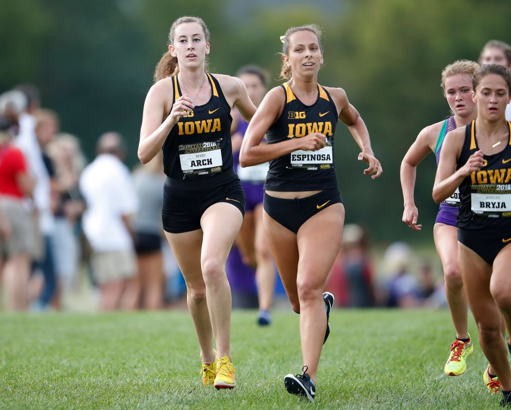 Mary Arch during the Hawkeye Invitational Friday, August 31, 2018 at the Ashton Cross Country Course.  (Brian Ray/hawkeyesports.com)