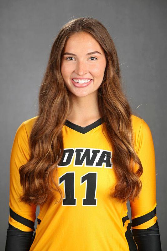 Blythe Rients - Volleyball - University of Iowa Athletics