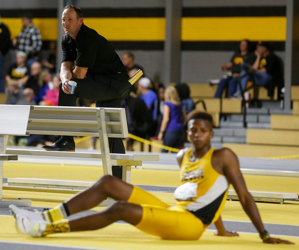Director of Track and Field Joey Woody