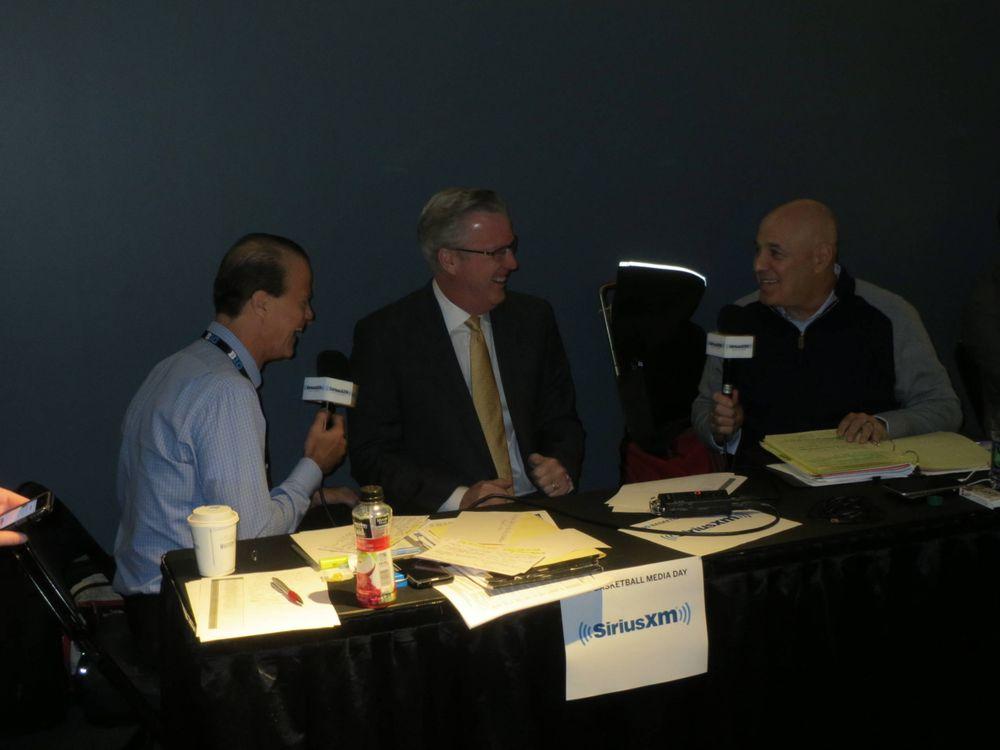 Fran McCaffery, Seth Greenberg, Sirius Radio