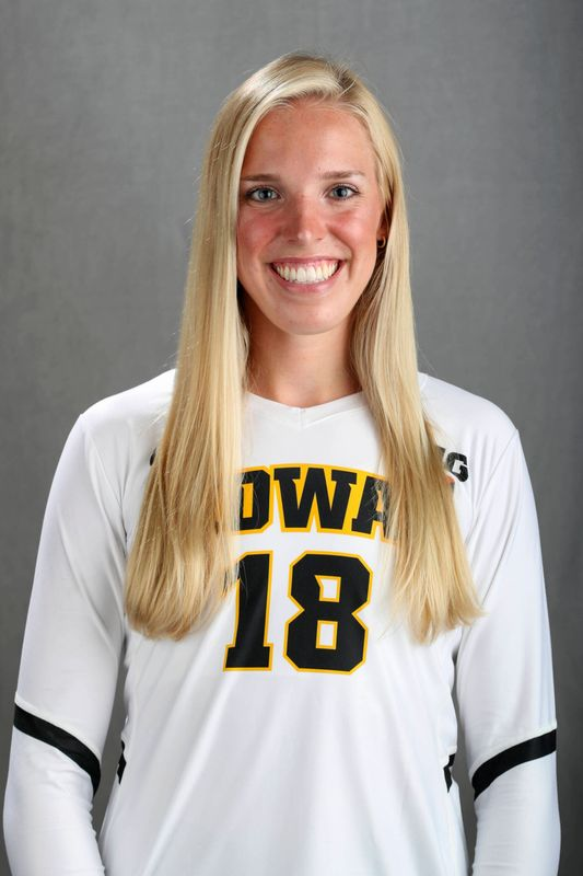 Hannah  Clayton - Volleyball - University of Iowa Athletics