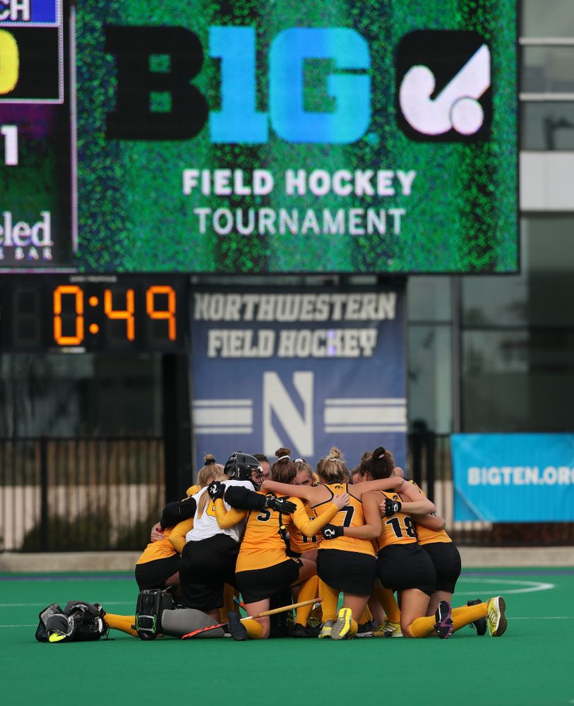 The Iowa Hawkeyes against the Michigan Wolverines in the semi-finals of the Big Ten Tournament Friday, November 2, 2018 at Lakeside Field on the campus of Northwestern University in Evanston, Ill. (Brian Ray/hawkeyesports.com)