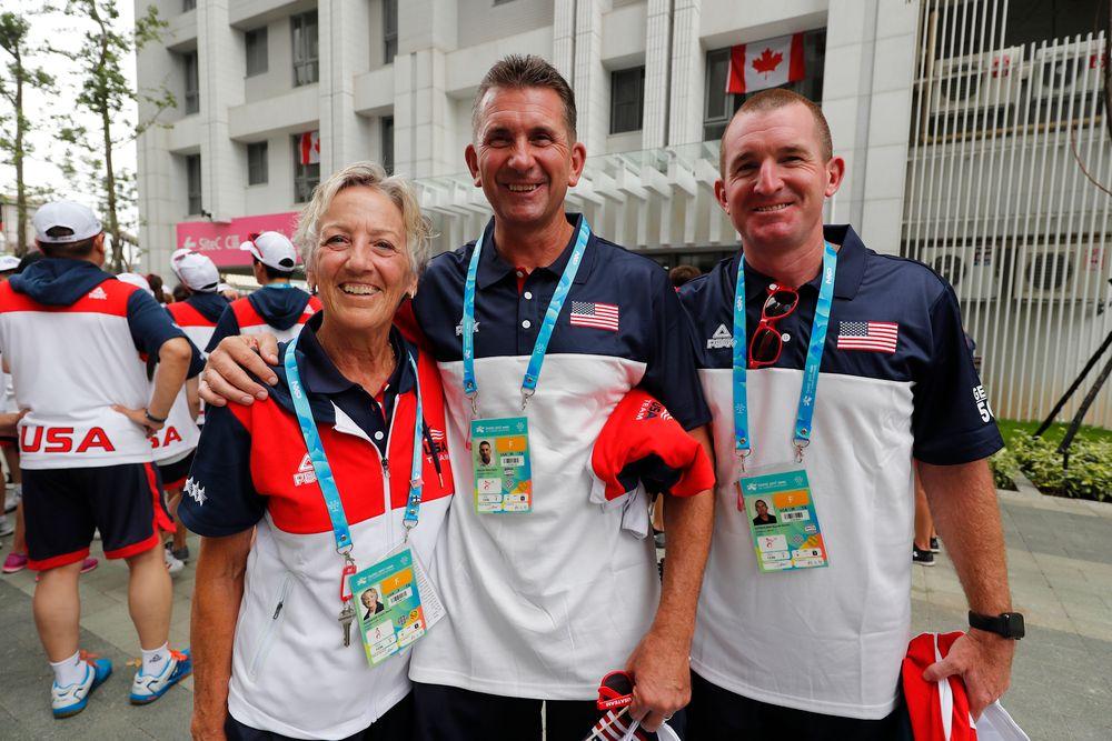 Diane Thomason, Rick Heller, Marty Sutherland