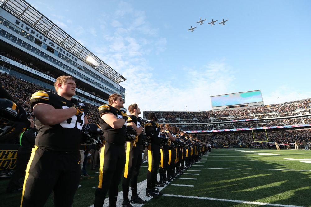 The Iowa Hawkeyes against Minnesota Saturday, September 28, 2019 at Kinnick Stadium. (Max Allen/hawkeyesports.com)