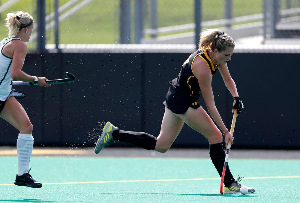 Iowa Hawkeyes Ellie Holley (7) against Dartmouth Friday, August 31, 2018 at Grant Field.  (Brian Ray/hawkeyesports.com)
