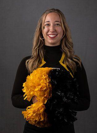 Addison Perri - Spirit - University of Iowa Athletics