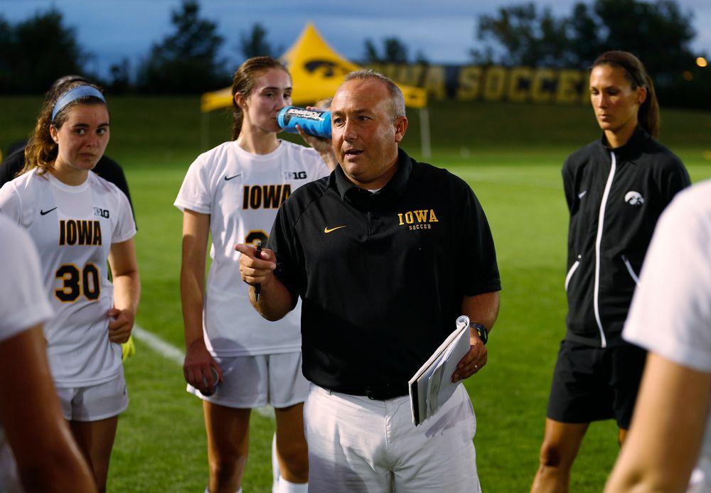 Iowa Hawkeyes head coach Dave DiIanni