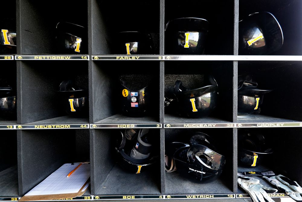 The Iowa Hawkeyes against the Penn State Nittany Lions  Thursday, May 17, 2018 at Duane Banks Field. (Brian Ray/hawkeyesports.com)