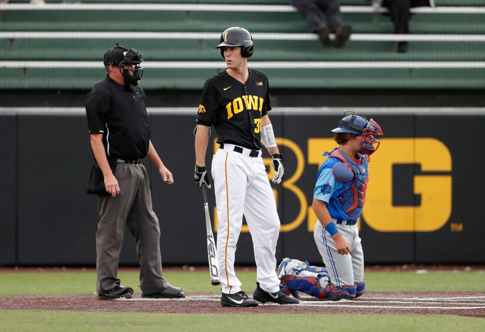 Connor McCaffery against the Ontario Blue Jays Friday, September 21, 2018 at Duane Banks Field. (Brian Ray/hawkeyesports.com)