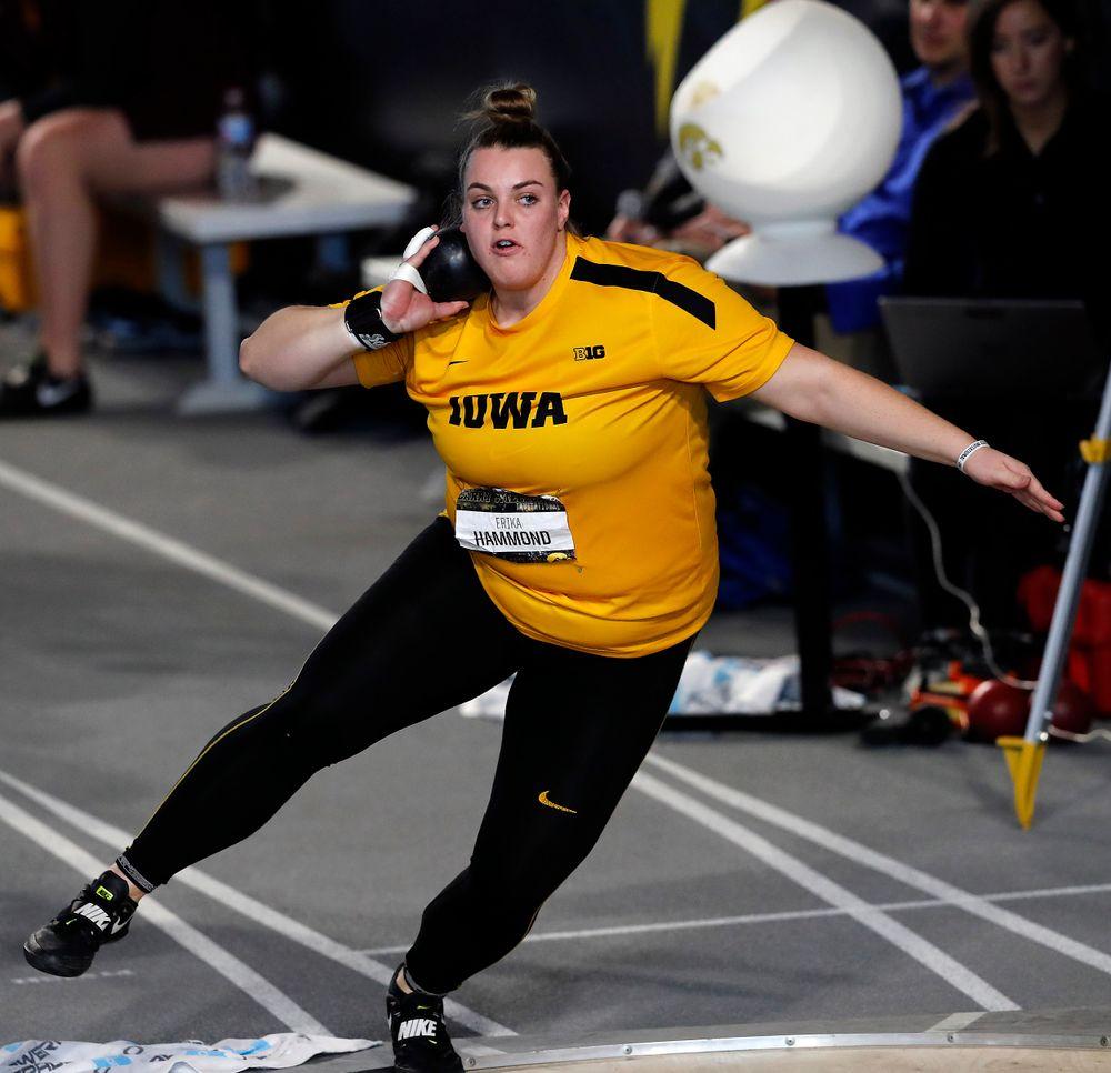 Erika Hammond (Darren Miller/hawkeyesports.com)