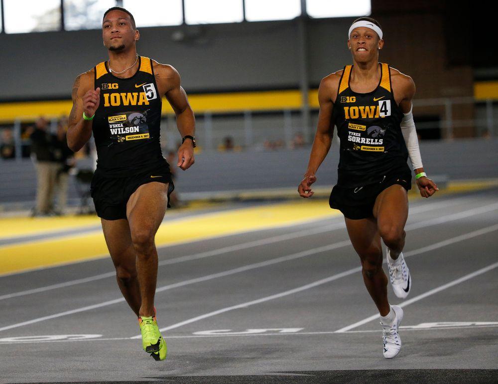 Iowa's O'Shea Wilson and Tyree Sorrells
