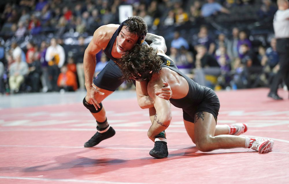Vince Turk's winning takedown