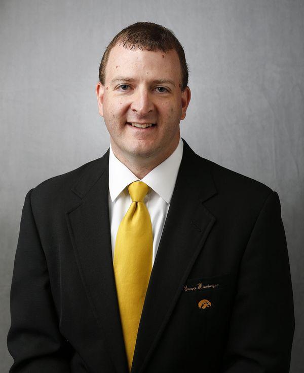 Greg Davies -  - University of Iowa Athletics