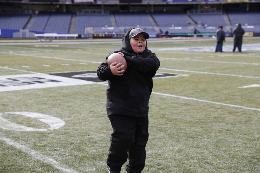 Chalk Talk Clinic at Yankee Stadium in the Bronx, New York, on Dec. 26, 2017. (Darren Miller/hawkeyesports.com)