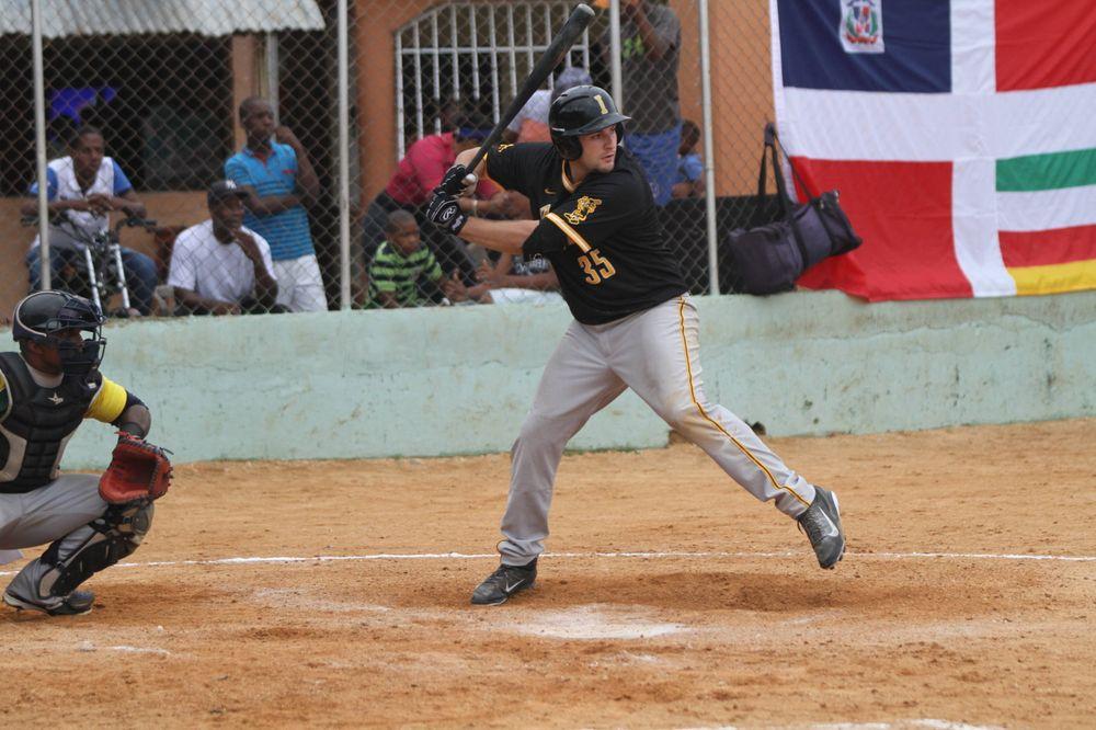 Jake Adams Iowa 9, Dominican Army National Team 4 Nov. 20, 2016 Photo: James Allan
