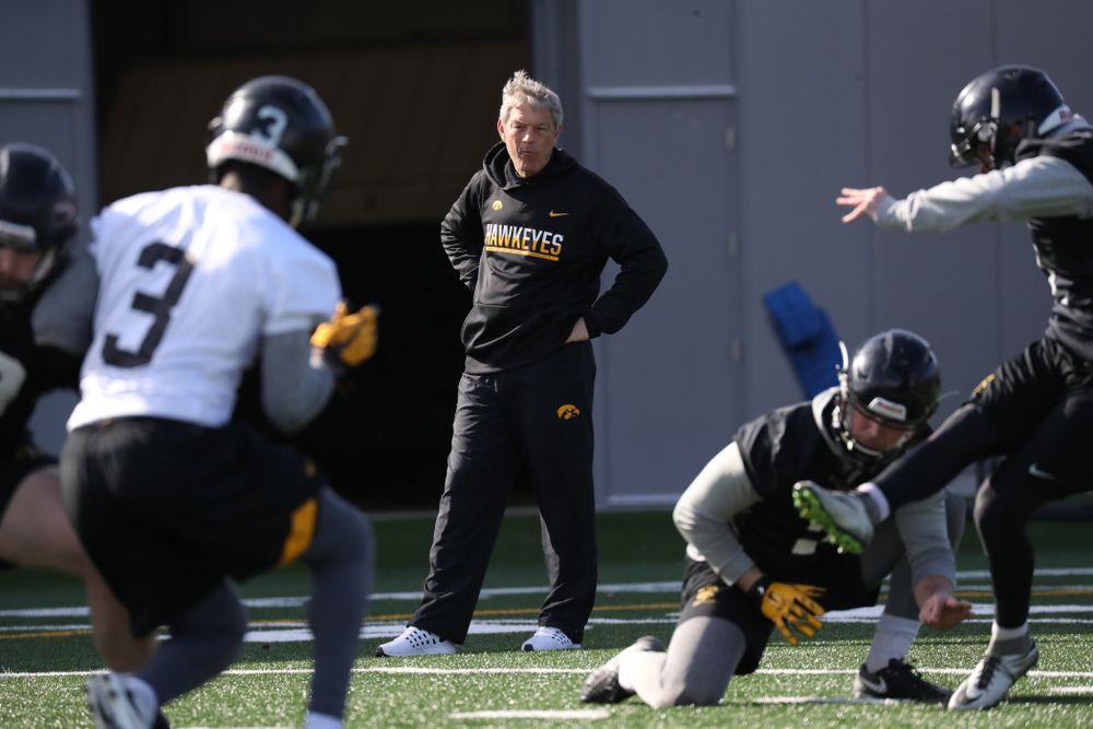 Iowa Head Coach Kirk Ferentz