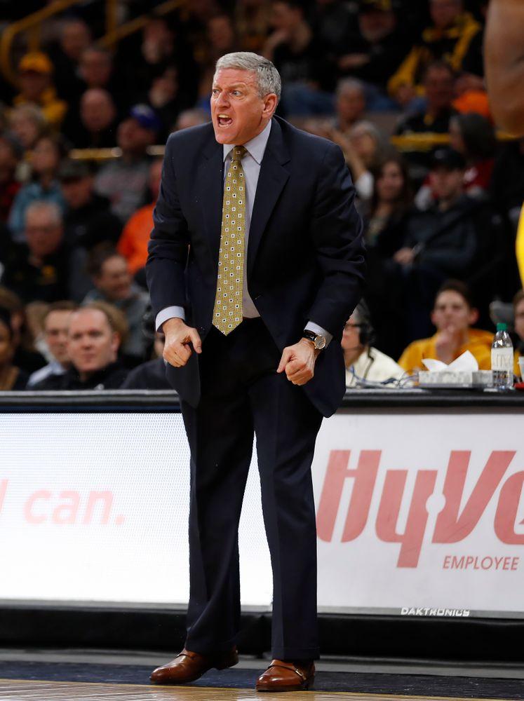 Iowa Hawkeyes assistant coach Kirk Speraw