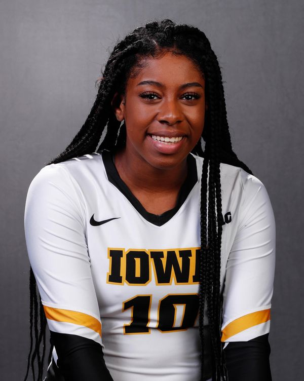 Griere Hughes - Volleyball - University of Iowa Athletics
