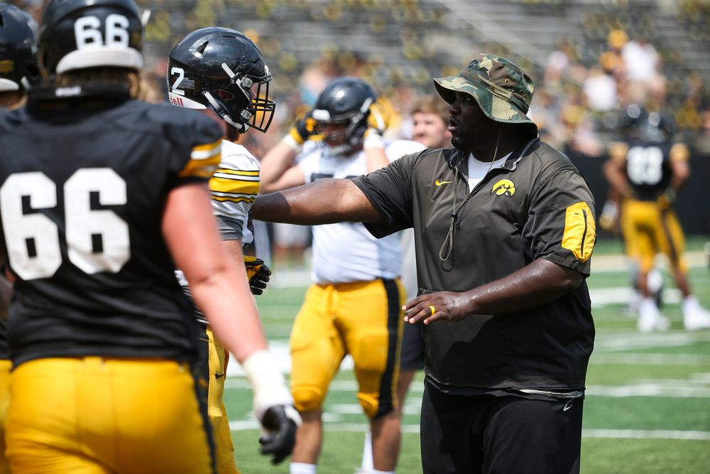 Iowa Hawkeyes assistant coach Kelvin Bell