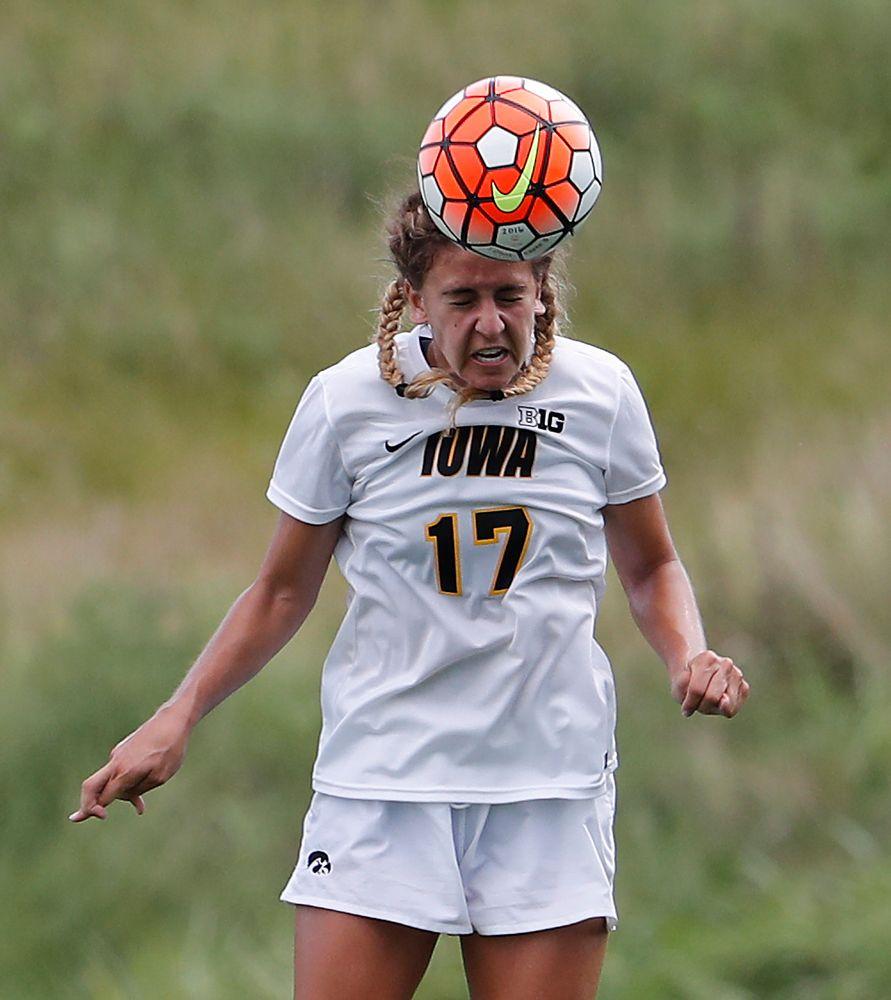 Iowa Hawkeyes Hannah Drkulec (17)