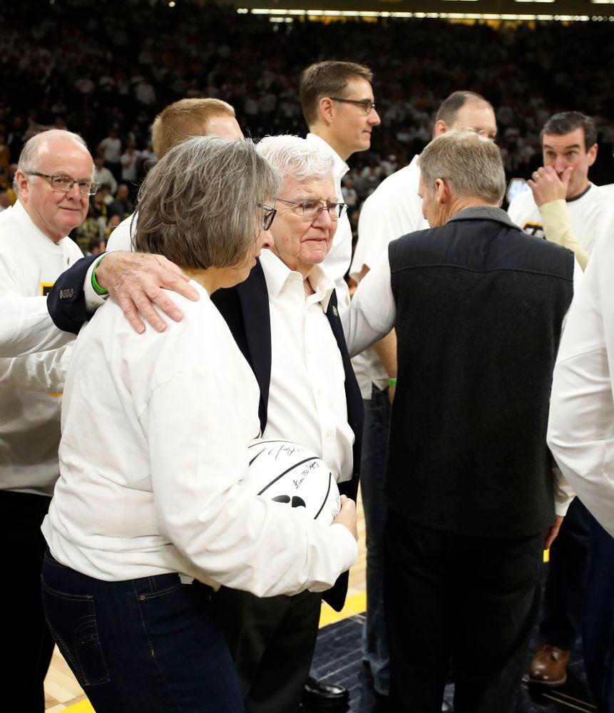 Patty Street and former head coach Tom Davis