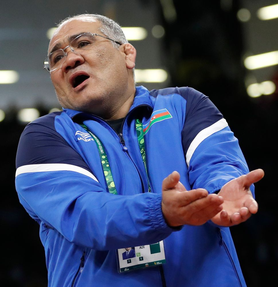 Azerbaijan coach