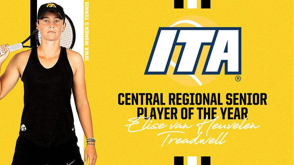 Elise van Heuvelen Treadwell named ITA Central Regional Senior Player of the Year