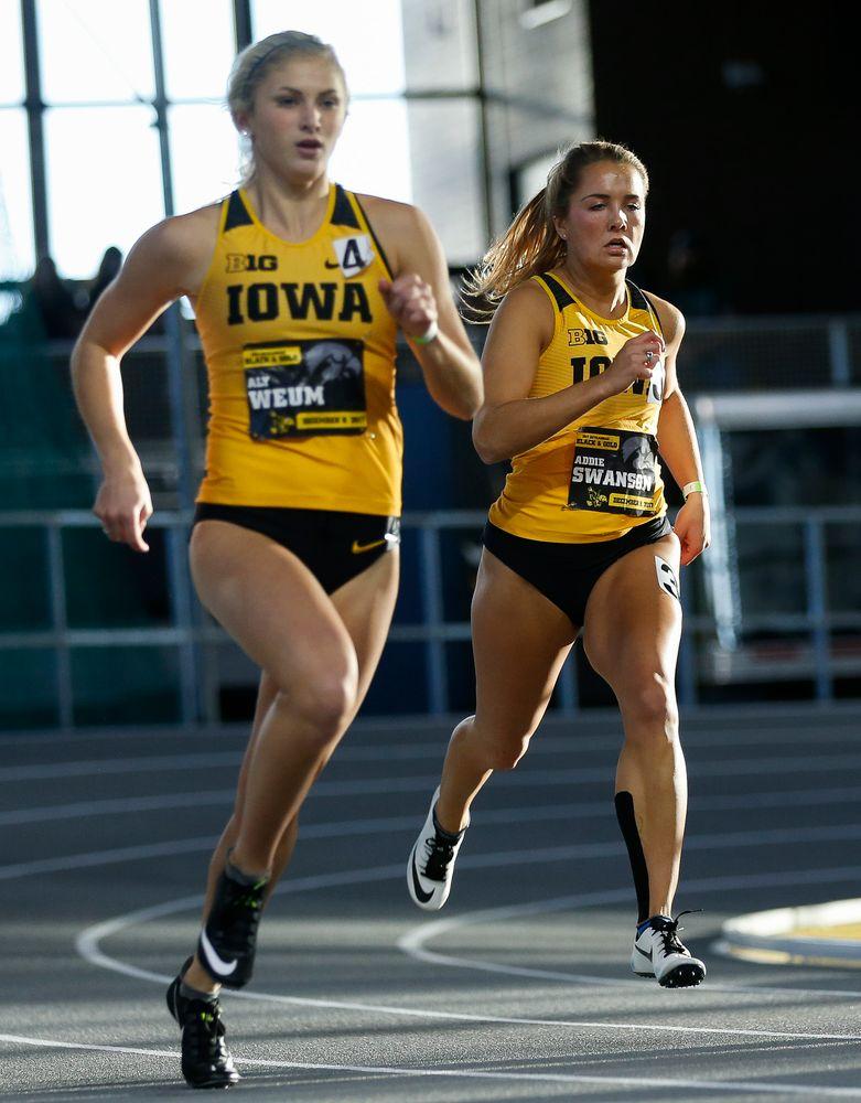 Iowa's Addie Swanson