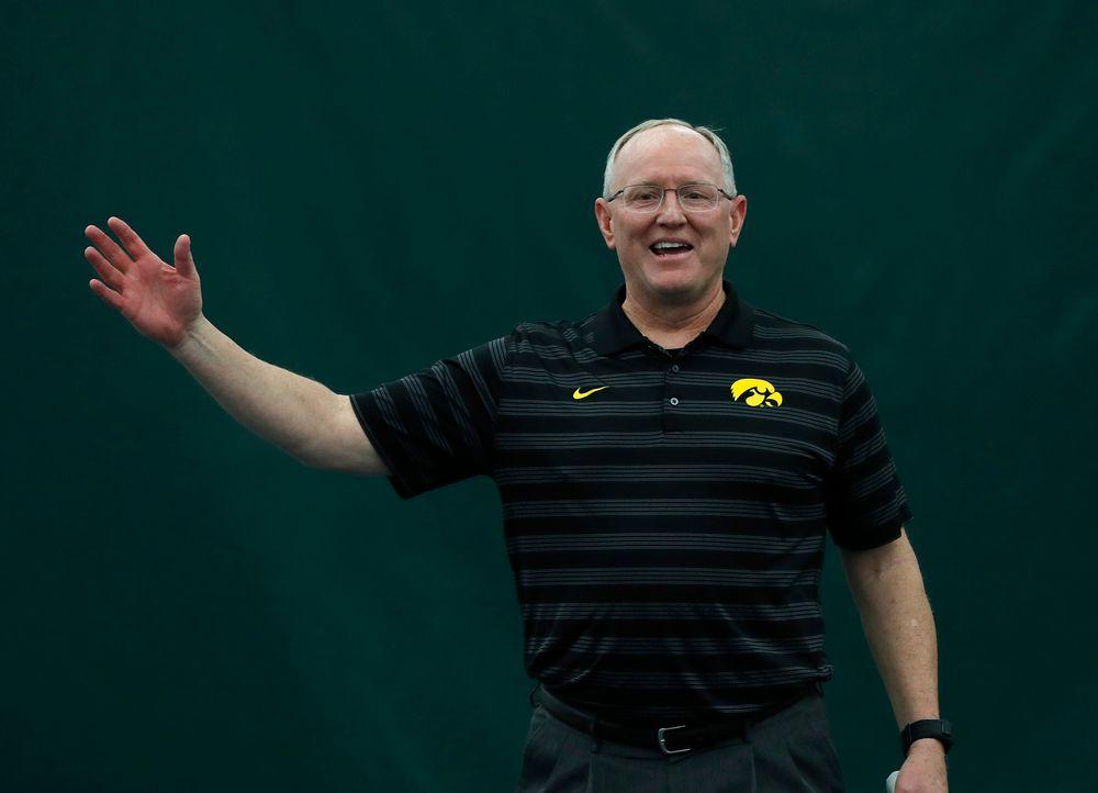 Deputy Athletics Director Gene Taylor