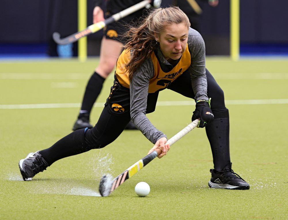 Iowa's Emily Deuell (2) during their practice at Karen Shelton Stadium in Chapel Hill, N.C. on Thursday, Nov 14, 2019. (Stephen Mally/hawkeyesports.com)