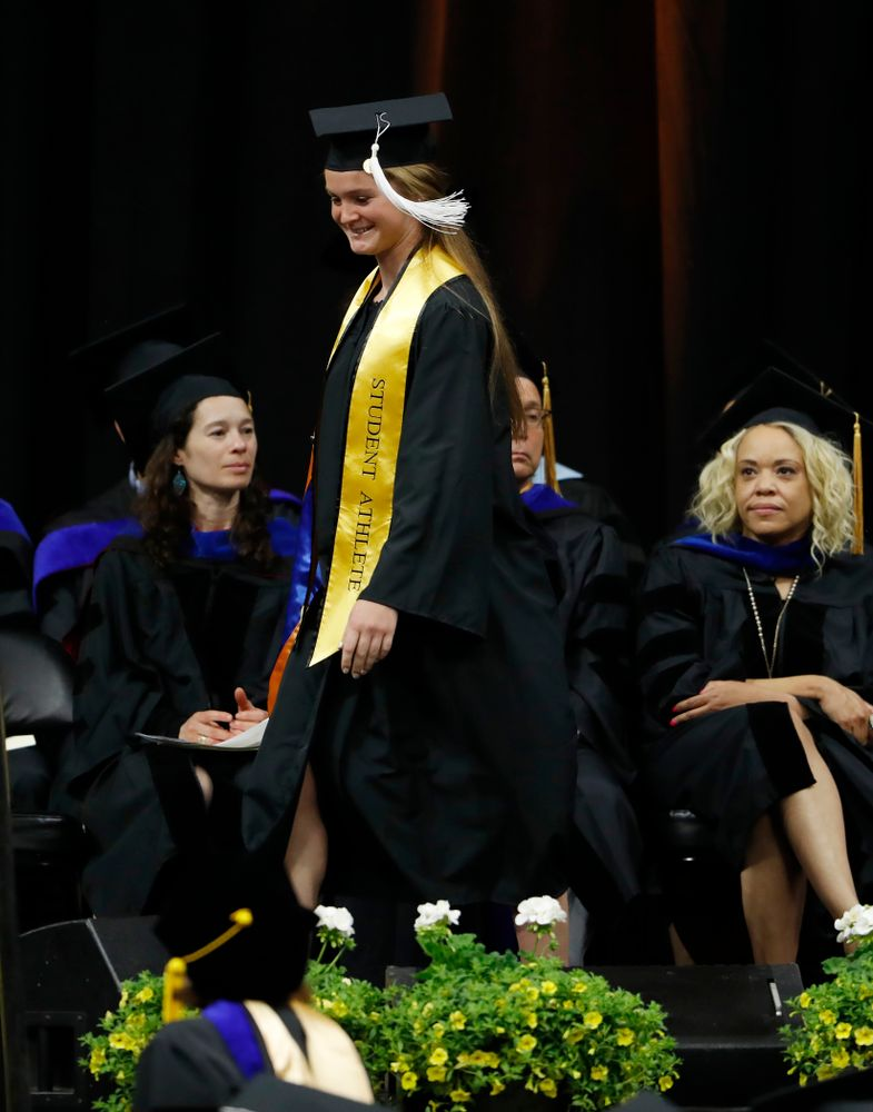 The 2018 College of Liberal Arts and Sciences Spring Commencement Saturday, May 12, 2018 at Carver-Hawkeye Arena. (Brian Ray/hawkeyesports.com)